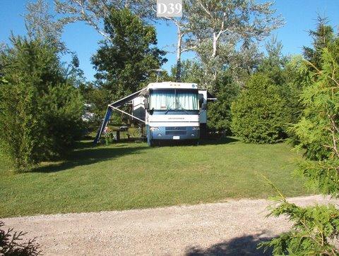 Popular Overnight Camping Near MacGregor Point  Kincardine Ontario