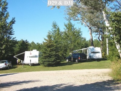 Excellent Overnight Camping Near MacGregor Point  Kincardine Ontario