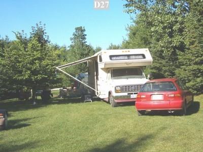 Awesome Overnight Camping Near MacGregor Point  Kincardine Ontario